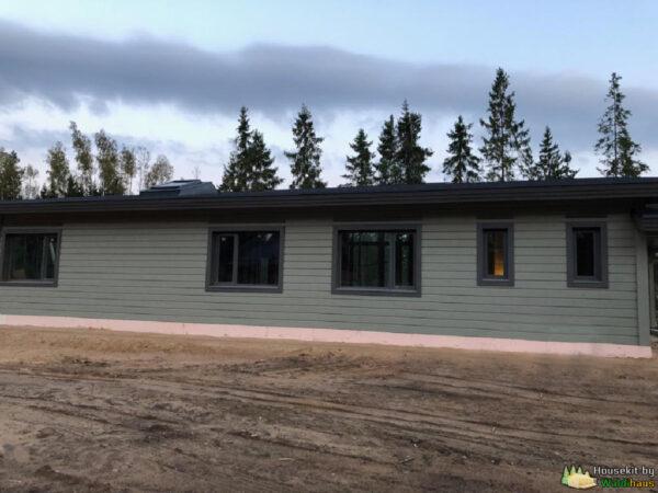 Wandbausatz Holzständer-Haus Kirilow 180qm