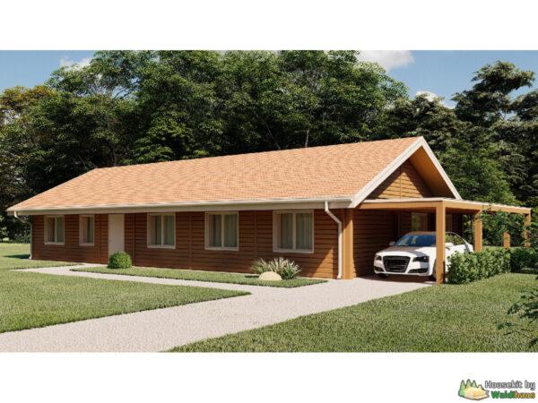 Wandbausatz Holzständerhaus Siegen 180qm
