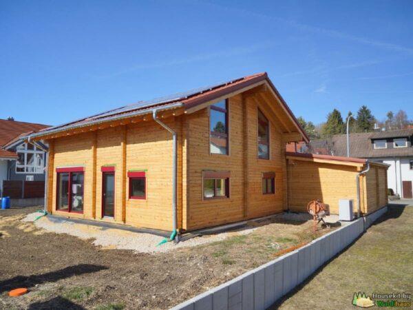 Wandbausatz Blockhaus Bingen 182qm