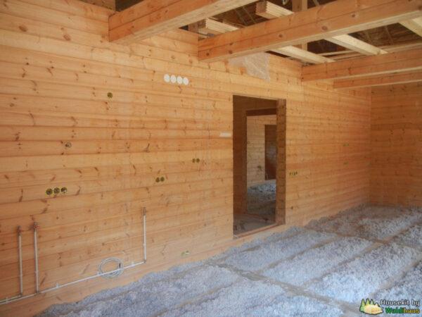 Wandbausatz Holzhaus Ligovo 270qm