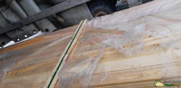 Bretter (Nut&Feder) aus Lärchenholz
